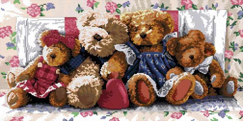 1305-14 Медвежья семейка (Белоснежка)