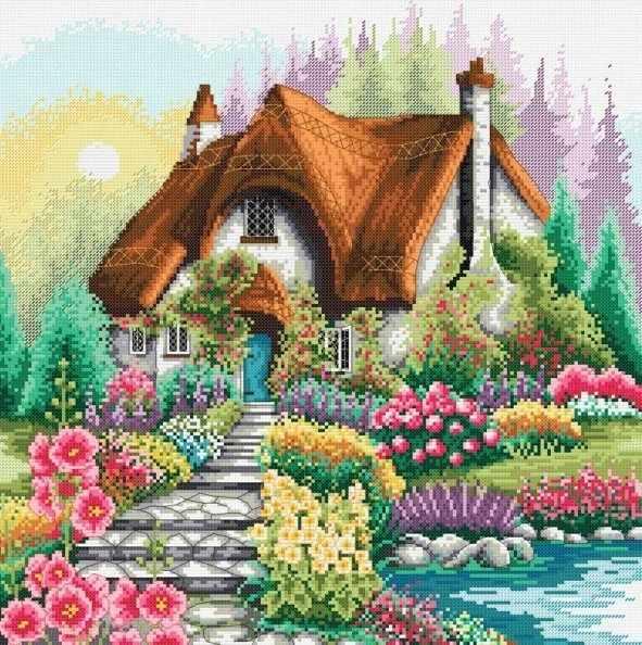 1385-14 Маленький домик