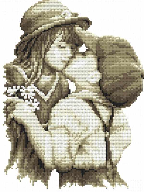 1665-14 Первая любовь (Белоснежка)