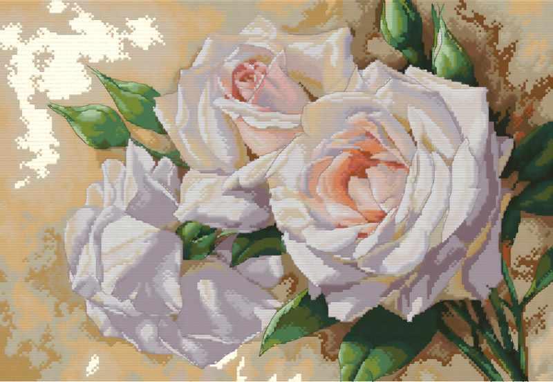 6035-14 Розовое трио (Белоснежка)