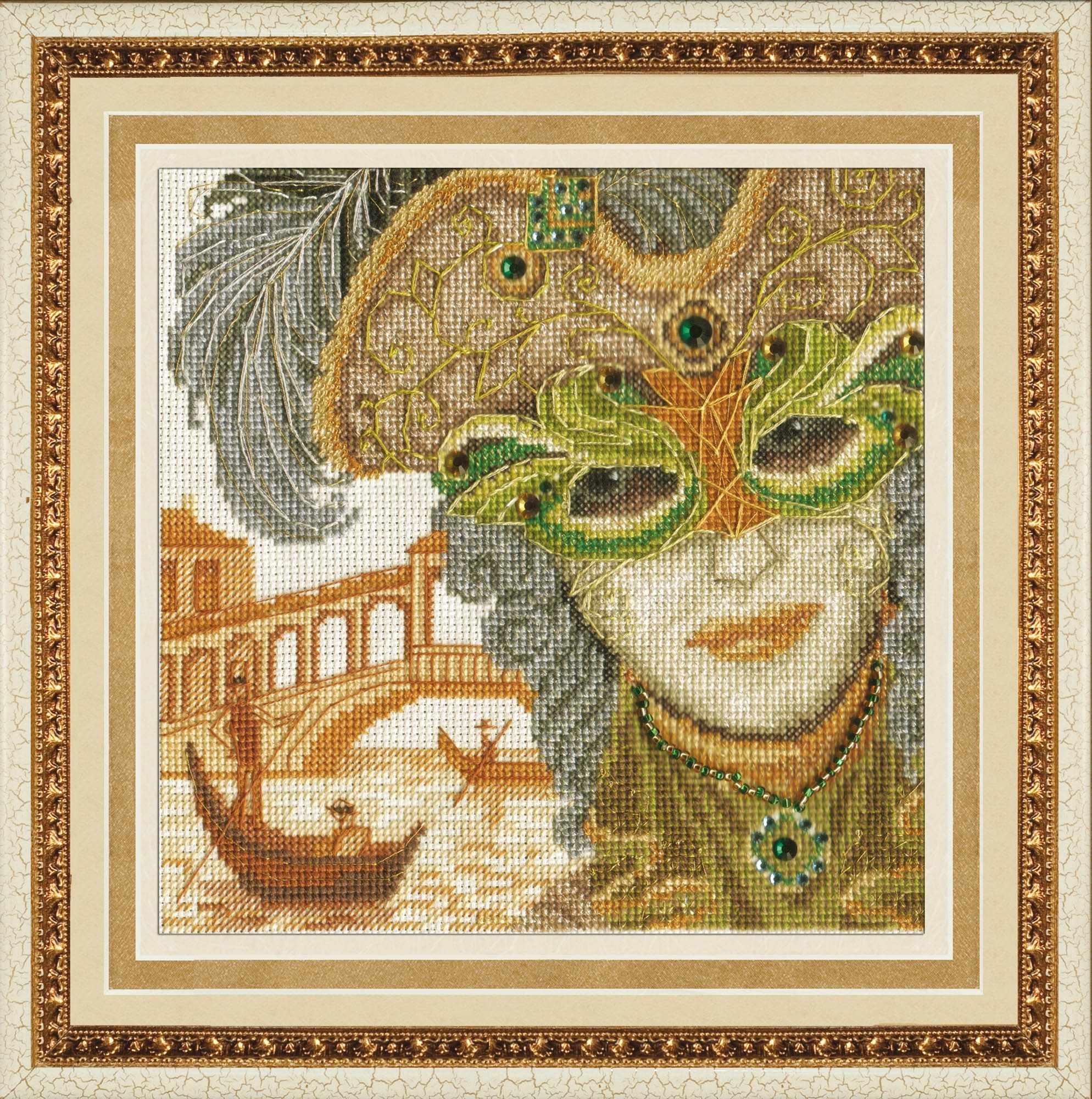"""М-013 """"Венецианская маска.Он."""""""