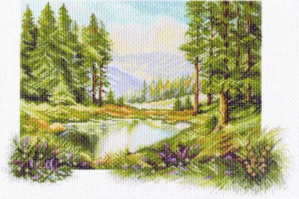 1237 Пейзаж с соснами (МП)