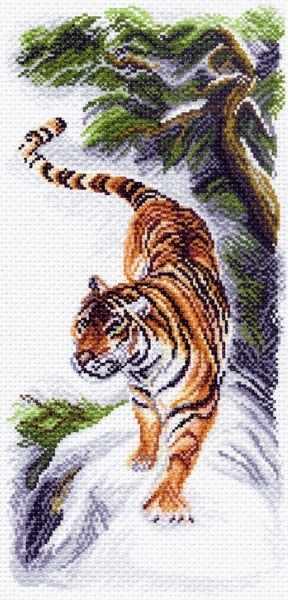 1512 Сила  - рисунок на канве (МП)