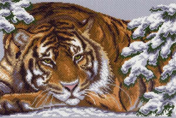 356 Амурский тигр - набор для вышивания