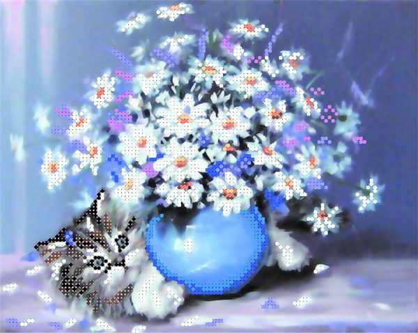 4028 Котёнок - схема для вышивания (Матрёнин посад)