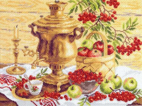 817 Русский колорит - рисунок на канве (МП)