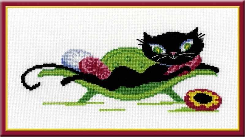 309 Кошечка на диване (Овен)