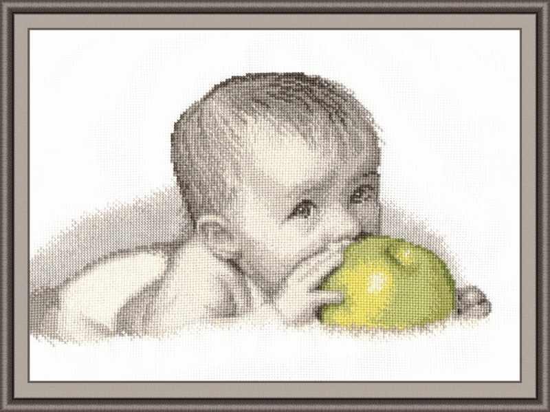 511 Малыш с яблоком (Овен)