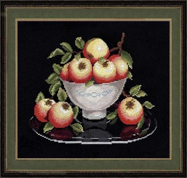 594 Яблоки в вазе (Овен)