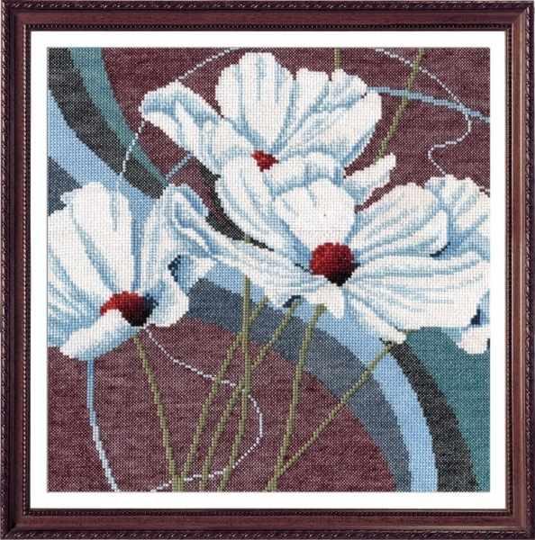 596 Белые анемоны (Овен)