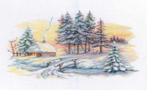 M196 Зимние красоты