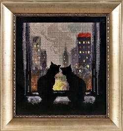 1093 Кошки на окошке (Alisena)
