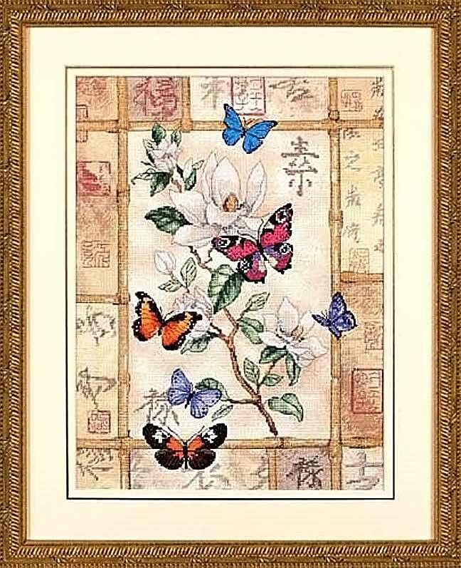 35063-DMS Сверкающая бабочка