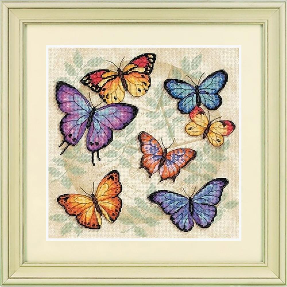35145-DMS Множество бабочек