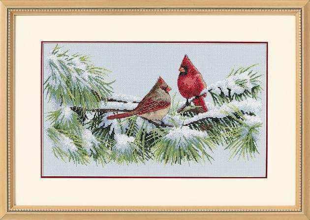 35178-DMS Зимние кардиналы