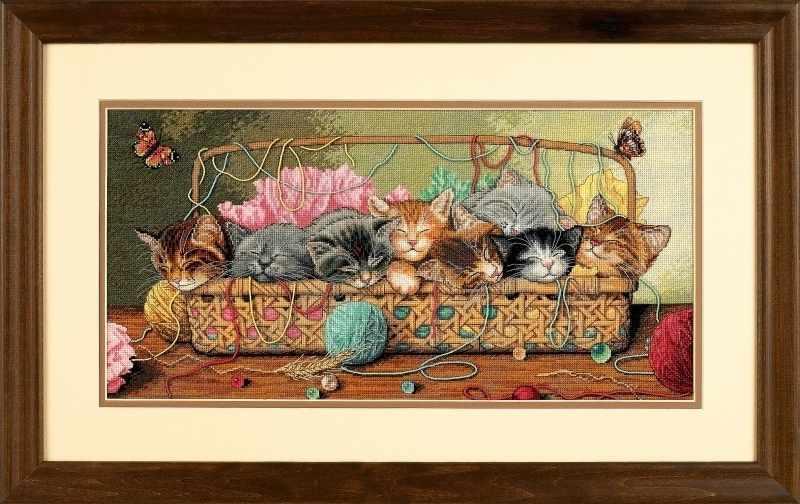 35184-DMS Новорожденные котята