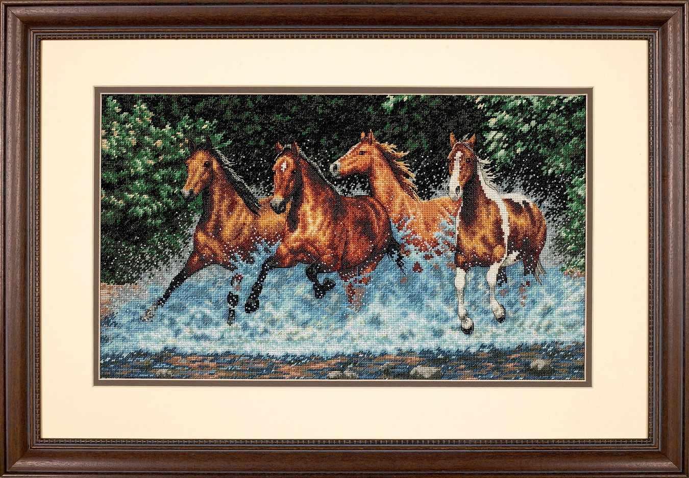 35214-DMS Бегущие лошади