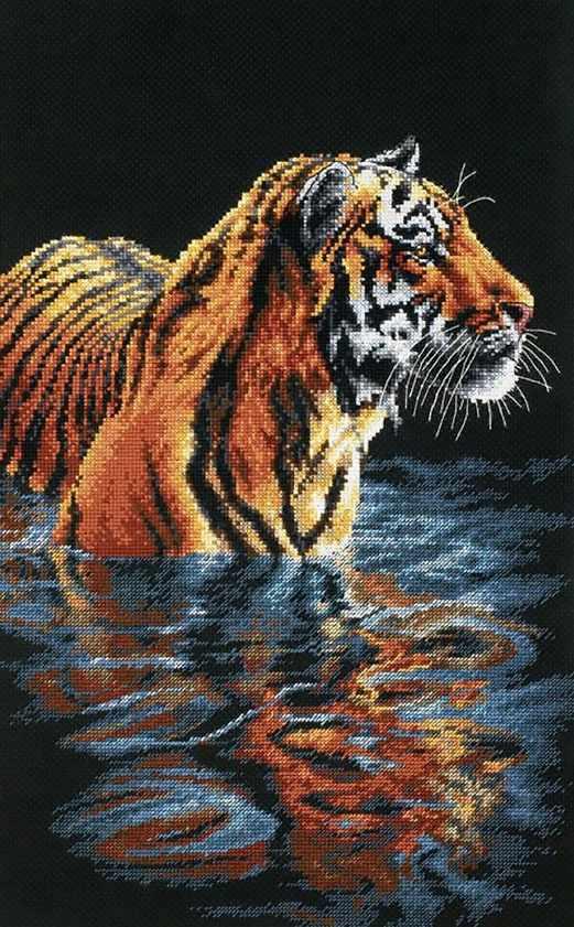 35222-DMS Охлаждающийся тигр