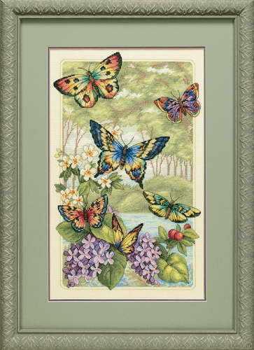 35223-DMS Лес бабочек