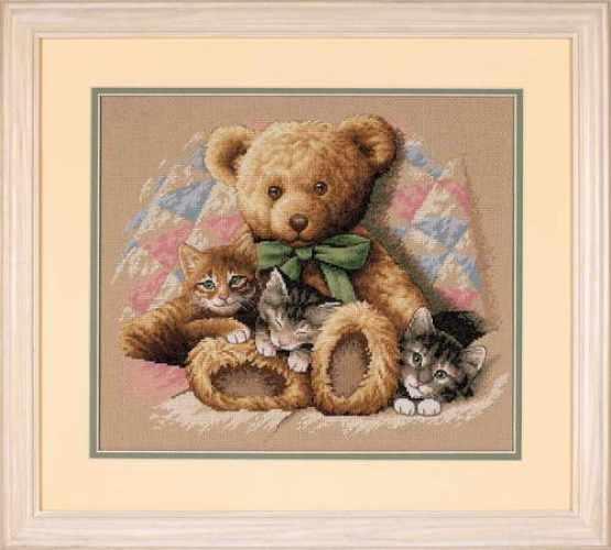 35236-DMS Мишка и котята