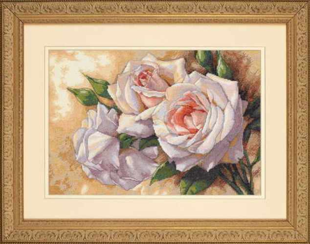 35247-DMS Белые розы
