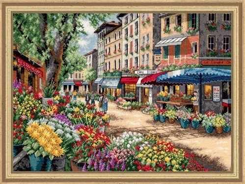 35256-DMS Рынок в Париже