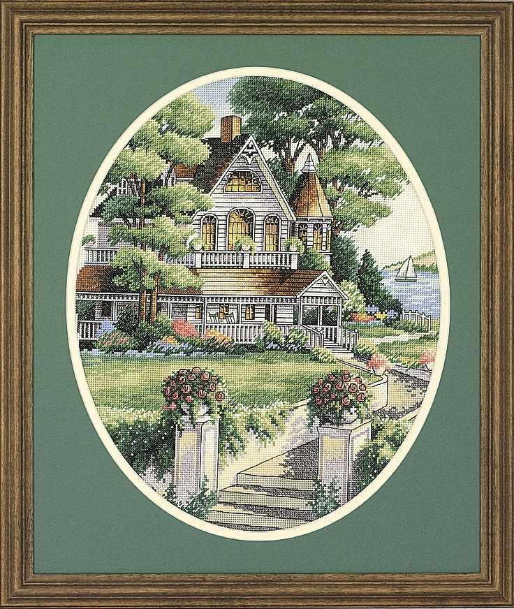 3874-DMS Викторианский дом