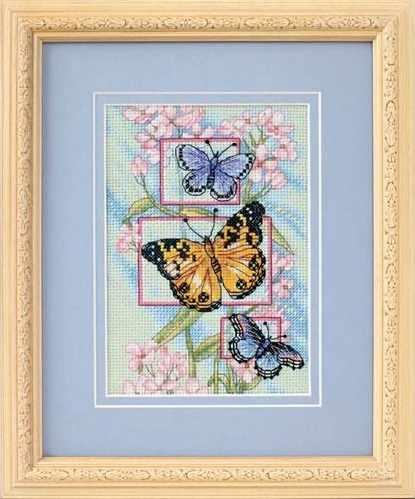 65022-DMS Бутоны и бабочки