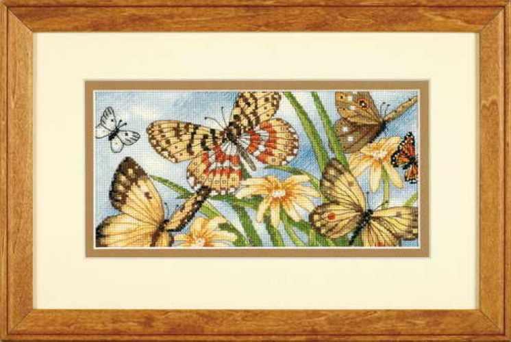 65055-DMS Виньетка с бабочками