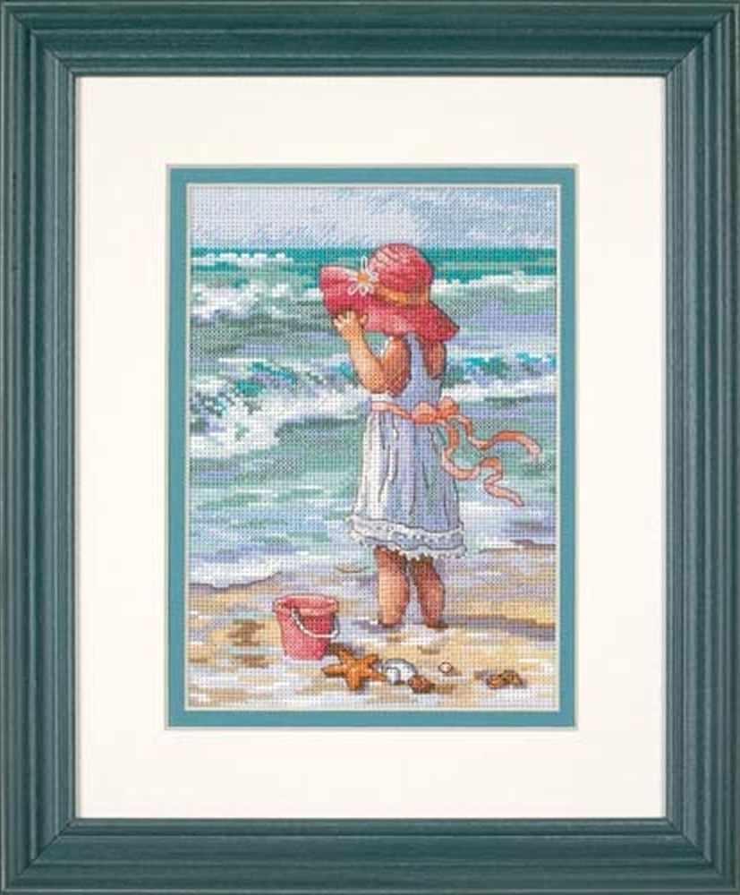 65078-DMS Девочка на берегу
