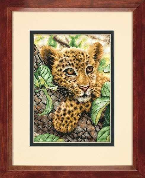 65118-DMS Отдыхающий леопард