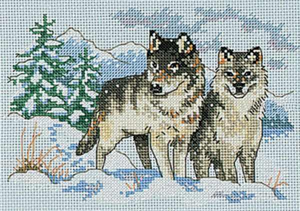 6800-DMS Пара волков