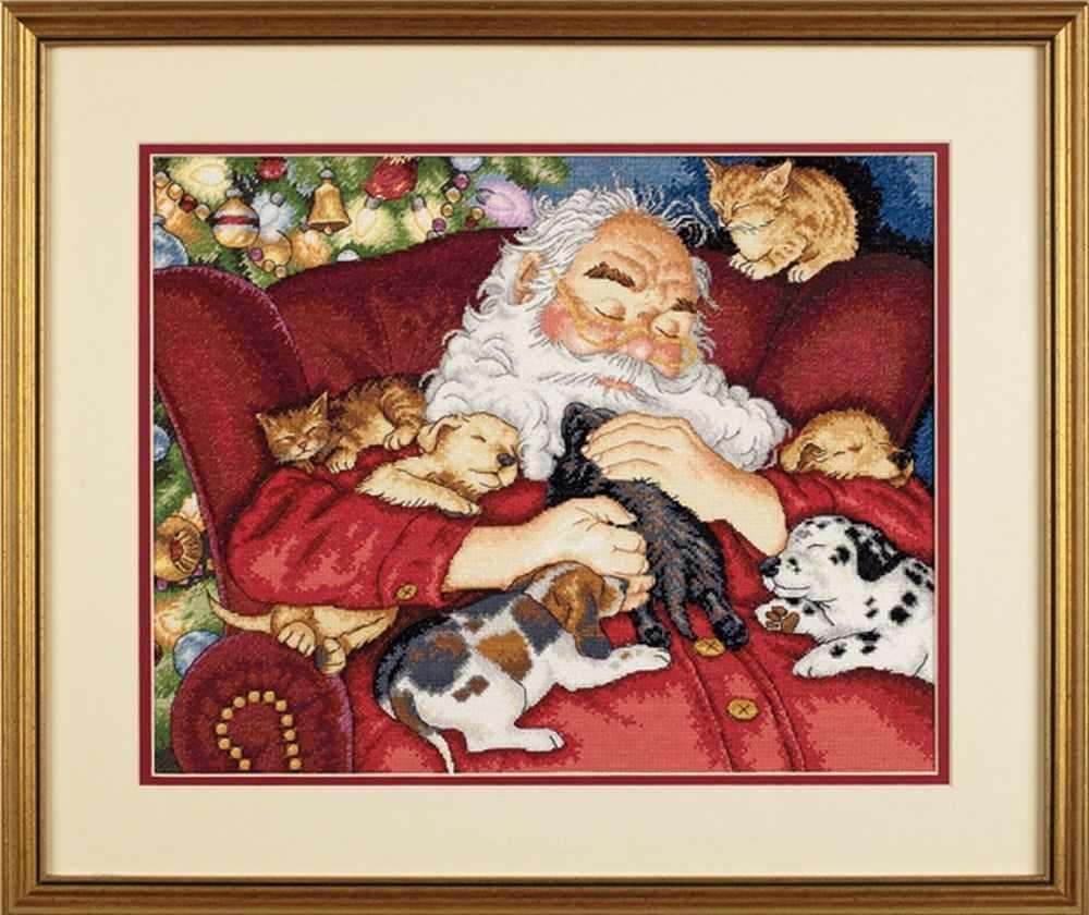 8836-DMS Santa s Nap
