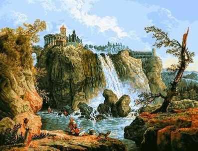 0459 Тивольский водопад