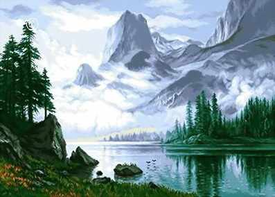 0614 Туман в горах
