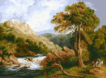0672 Горная река