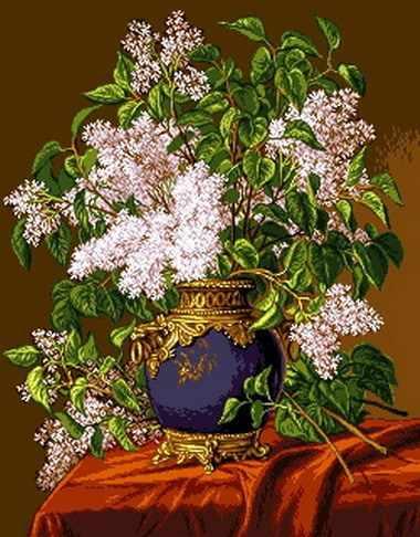 0783 White lilacs