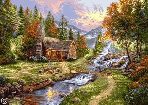 0906 Горный пейзаж