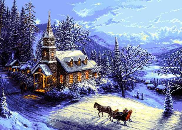 0851 Новый год (Christmas home)