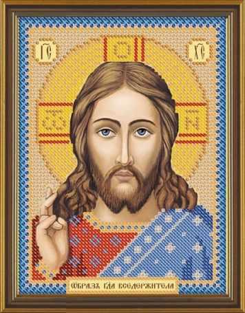 Бис 5001 Христос Спаситель (рисунок на ткани)