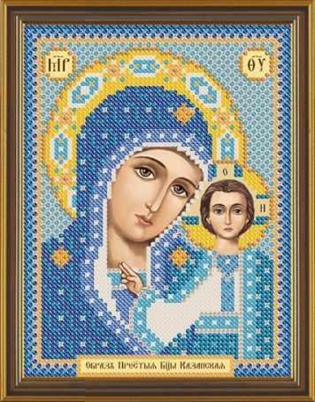 Бис 5002 Богородица Казанская (рисунок на ткани)