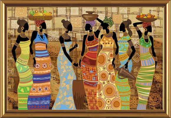 ДК 1038 Африканские красавицы