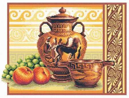 в-0225 греческие вазы