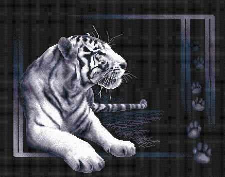 "J-0277 ""Белый тигр"""