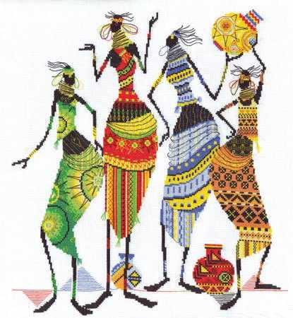 """НМ-0739 """"Африканочки-подружки"""""""
