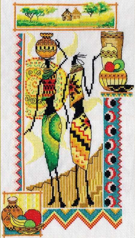 "НМ-0740 ""Африка. Женщины и керамика"""