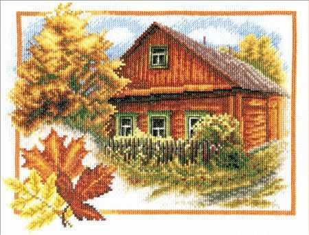 """ПС-0314 """"Осень в деревне"""""""