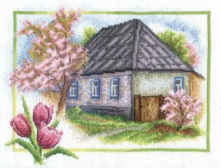 """ПС-0332 """"Весна в деревне"""""""