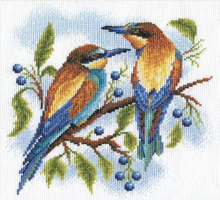 """ПС-0429 """"Яркие птички"""""""