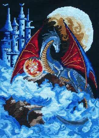 "Ф-0580 ""Дракон голубой планеты"""